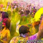 Picture of Funny Happy Holi Caption
