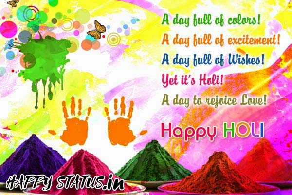 Picture of Holi Status