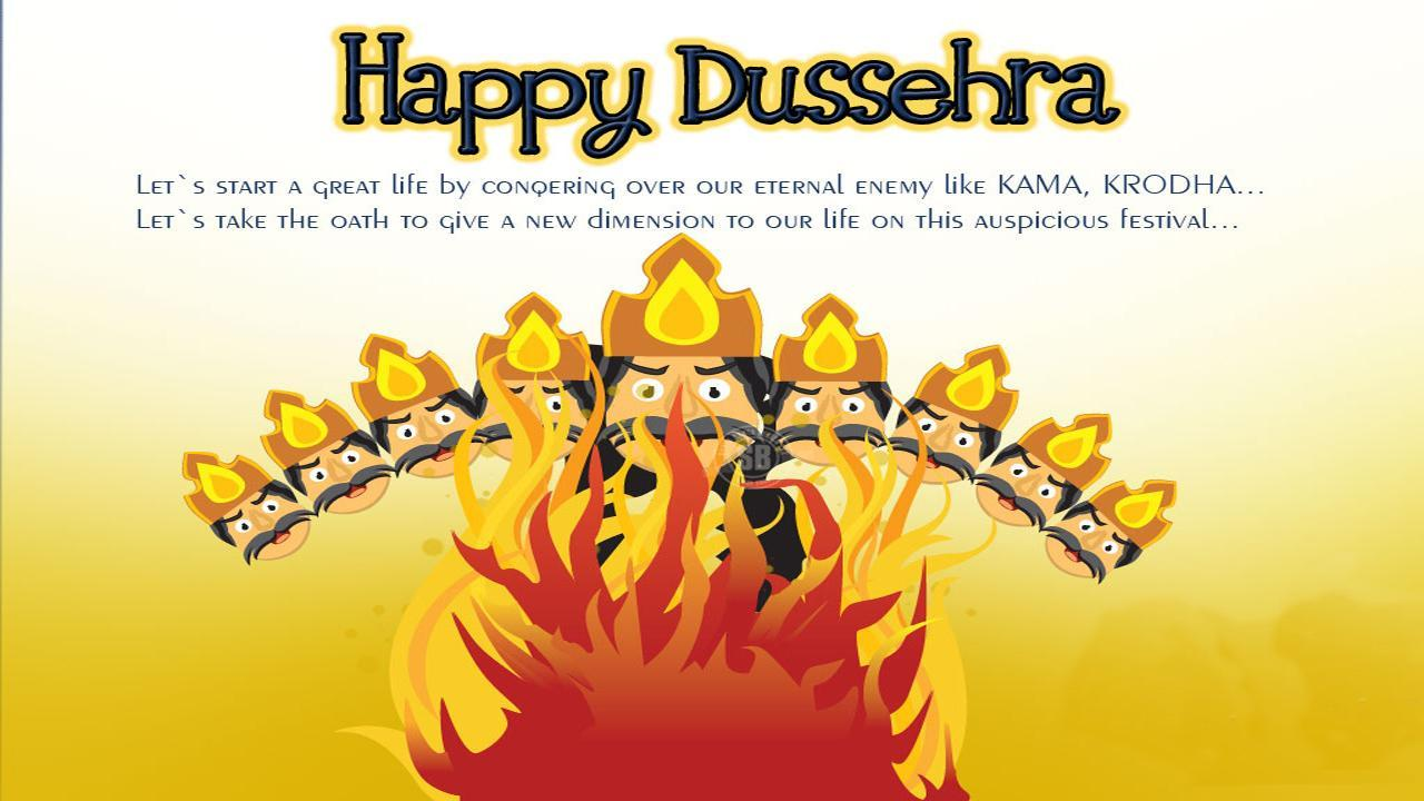 Best Happy Dussehra Caption For Instagram 2019